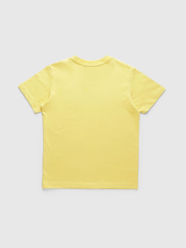 Diesel - TJUSTDIVISION, Yellow - T-shirts and Tops - Image 2