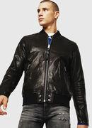 L-DAVIDOV, Black - Leather jackets