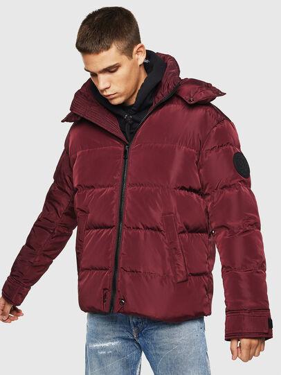 Diesel - W-SMITH-YA, Bordeaux - Winter Jackets - Image 1