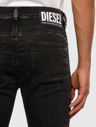 Diesel - D-REEFT JoggJeans® 009FY, Black/Dark grey - Jeans - Image 5