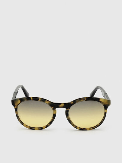 Diesel - DL0310, Black/Yellow - Sunglasses - Image 1