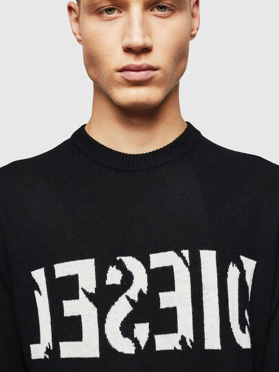 Diesel - K-JOY, Black - Knitwear - Image 4
