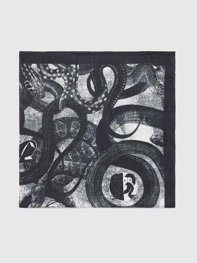 Diesel - SPAKKI, Black/Grey - Scarf - Image 2