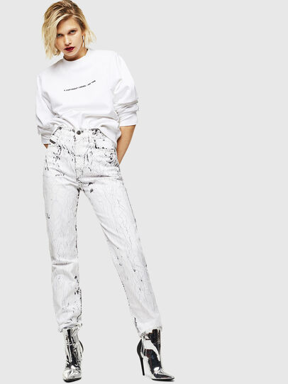 Diesel - F-ANG-COPY, White - Sweaters - Image 4