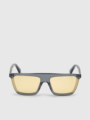 DL0323, Black/Yellow - Sunglasses
