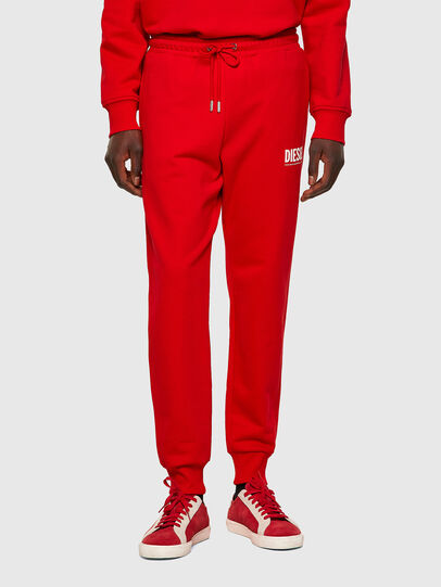 Diesel - P-TARY-ECOLOGO, Red - Pants - Image 1