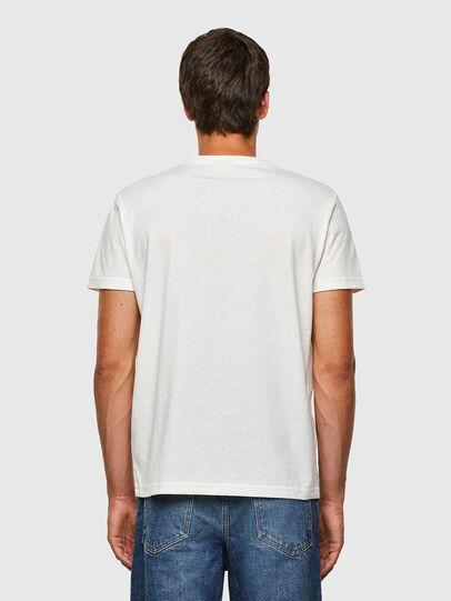 Diesel - T-DIEGOS-N23, White - T-Shirts - Image 2