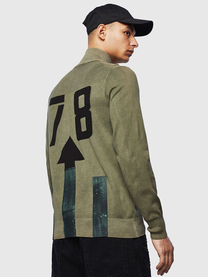 Diesel - K-FRECCY, Military Green - Knitwear - Image 2