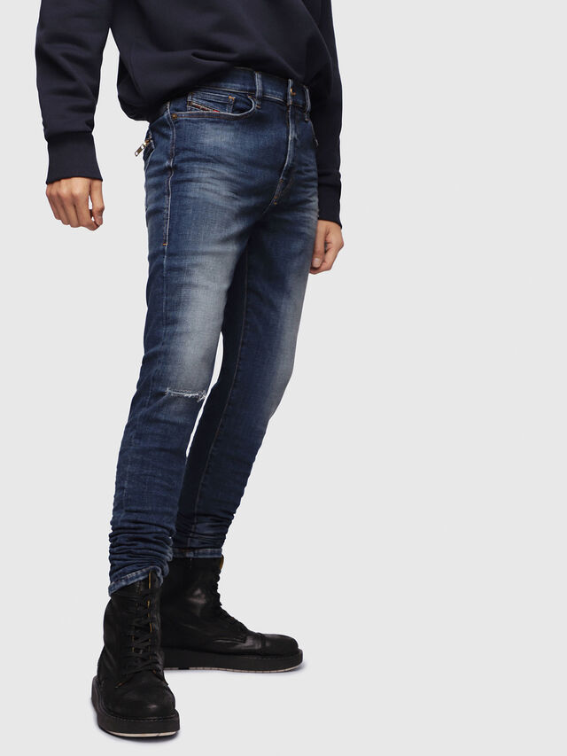 Diesel - D-Amny 086AV, Medium blue - Jeans - Image 1