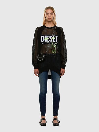 Diesel - M-PORTIA, Black - Knitwear - Image 6