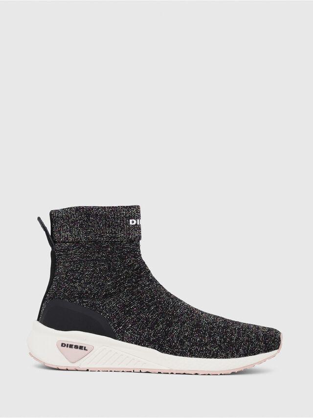 Diesel - S-KBY SOCK W, Multicolor/Black - Sneakers - Image 1