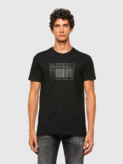 Diesel - T-DIEGOS-N35, Black - T-Shirts - Image 4