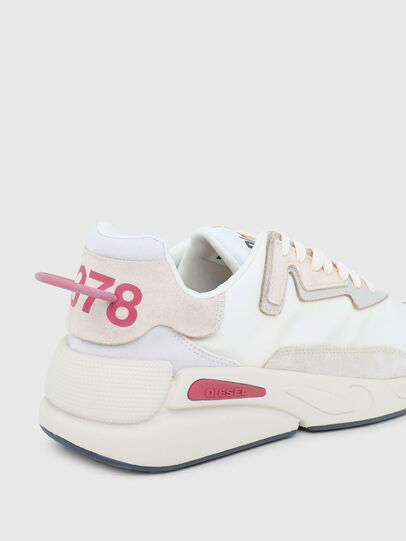 Diesel - S-SERENDIPITY LC W, White/Pink - Sneakers - Image 5