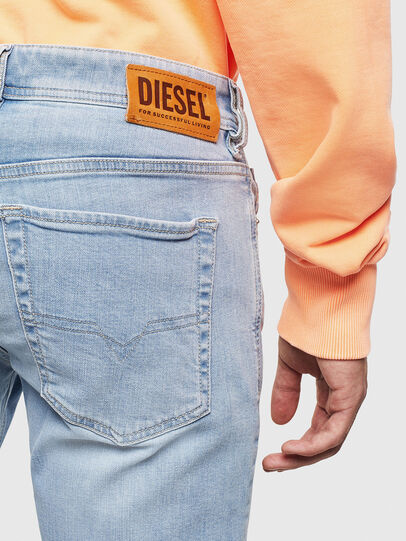 Diesel - Sleenker 009BJ, Light Blue - Jeans - Image 4