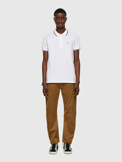 Diesel - T-RANDY-NEW, White - Polos - Image 4