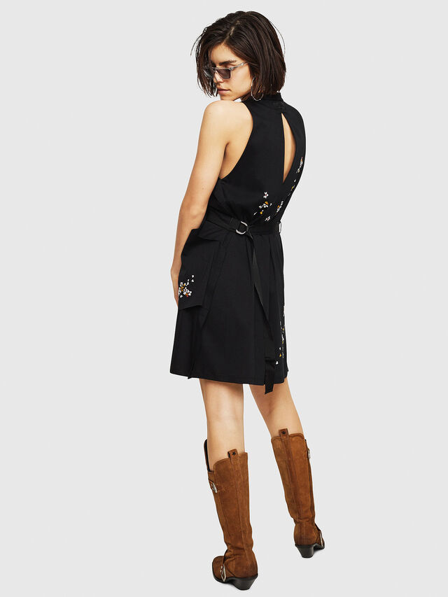 Diesel - D-SOLA, Black - Dresses - Image 2