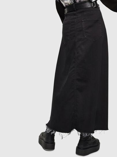 Diesel - D-RHITA JOGGJEANS, Black - Skirts - Image 2