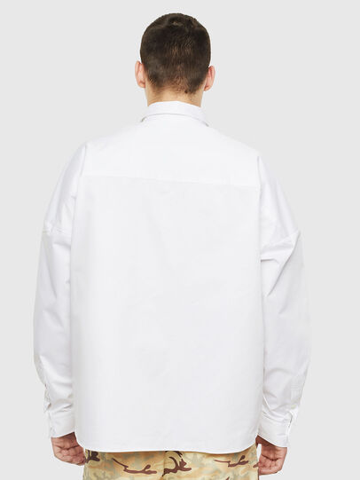 Diesel - S-LOOMY, White - Shirts - Image 2