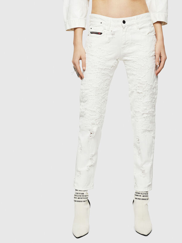 D-Rifty 069GY, White - Jeans