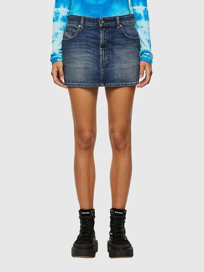 Diesel - DE-EISY, Dark Blue - Skirts - Image 1