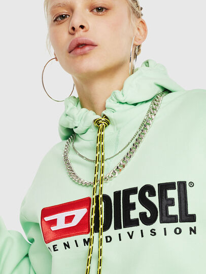 Diesel - F-DINIE-A, Green Fluo - Sweaters - Image 3