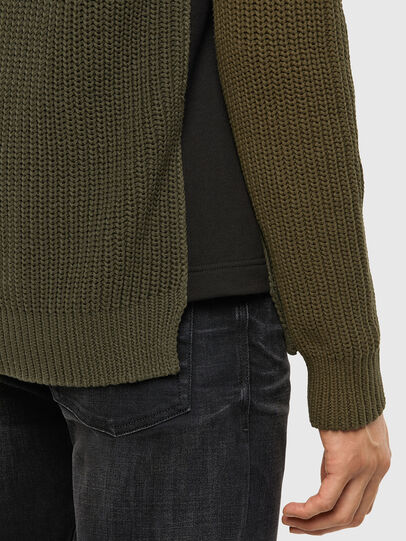 Diesel - K-CAREY, Military Green - Knitwear - Image 4