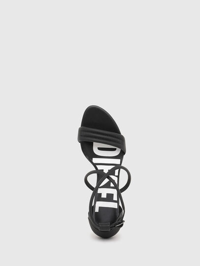 Diesel - SA-SLANTY MXR, Black - Sandals - Image 4