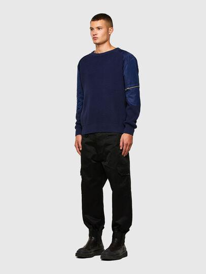 Diesel - K-GEORGE, Blue - Knitwear - Image 5