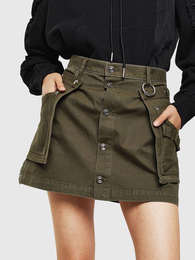 O-LADEL, Military Green - Skirts