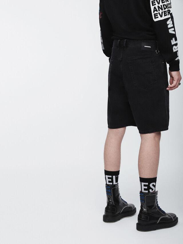 Diesel - D-WILLOH, Black - Shorts - Image 3