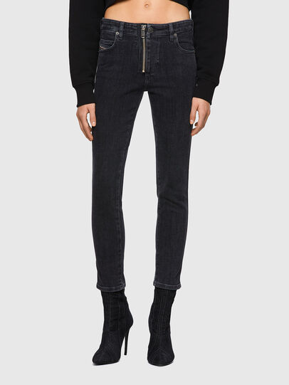 Diesel - Babhila 09A67, Black/Dark grey - Jeans - Image 1