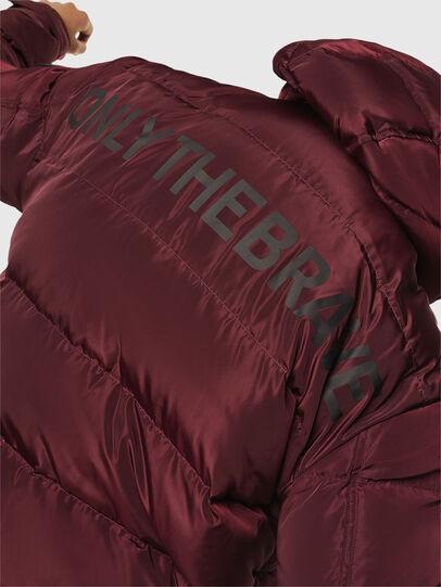 Diesel - W-SMITH-YA, Bordeaux - Winter Jackets - Image 6