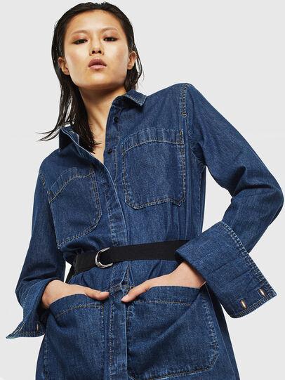 Diesel - DE-TOKYO, Medium blue - Dresses - Image 6