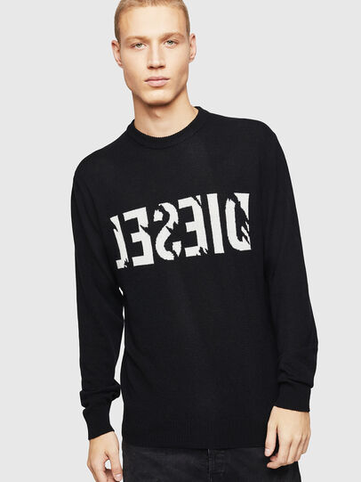Diesel - K-JOY, Black - Knitwear - Image 1