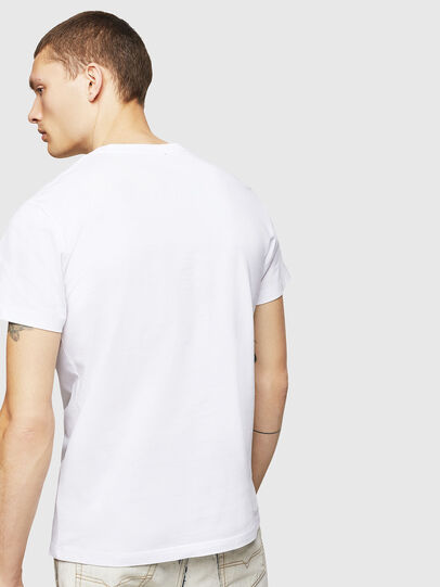 Diesel - T-DIEGO-A4, White - T-Shirts - Image 2