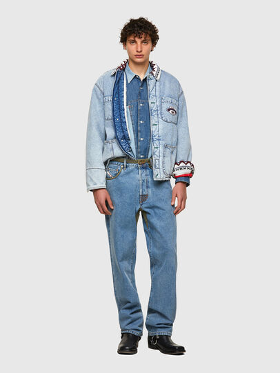 Diesel - DxD-J4, Light Blue - Denim Jackets - Image 5