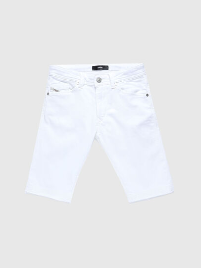 Diesel - DARRON-R-J SH-N JOGGJEANS, White - Shorts - Image 1