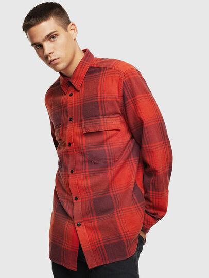 Diesel - S-MILLERIN, Red - Shirts - Image 1