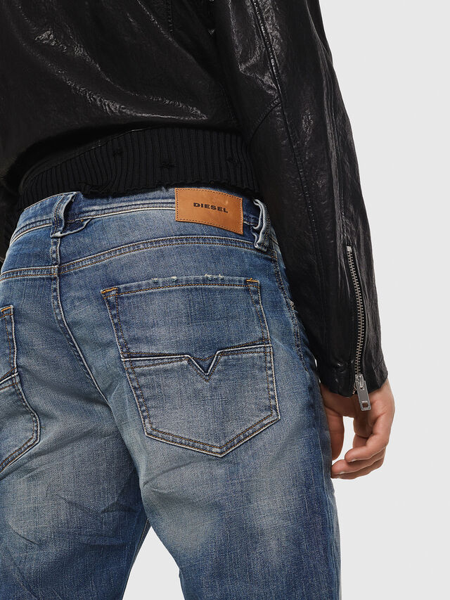 Diesel - Larkee-Beex 089AR, Dark Blue - Jeans - Image 5