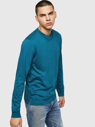 Diesel - T-LERMON, Blue Marine - T-Shirts - Image 4