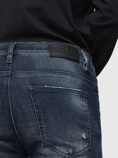 Diesel - D-Istort 0098R, Dark Blue - Jeans - Image 4