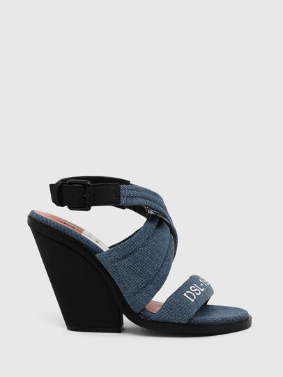 Diesel - SA-FLAMINGO XR, Blue Jeans - Sandals - Image 1