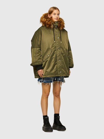 Diesel - W-FLORES, Military Green - Winter Jackets - Image 7