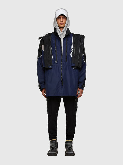 Diesel - W-KOON, Blue/Grey - Winter Jackets - Image 7