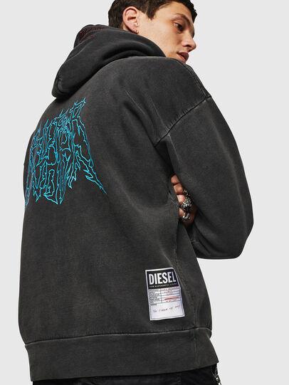 Diesel - S-ALBY-ACID, Black - Sweaters - Image 6