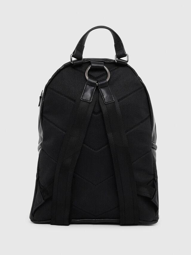 Diesel - LE-ZIPPER BACKPACK, Black - Backpacks - Image 2