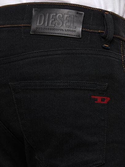 Diesel - D-Strukt 009HY, Black/Dark grey - Jeans - Image 4