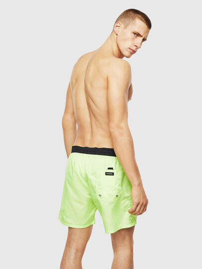 Diesel - BMBX-WAVE 2.017, Green Fluo - Swim shorts - Image 2