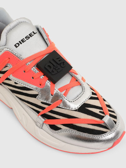 Diesel - S-SERENDIPITY LC EVO, White/Pink - Sneakers - Image 4