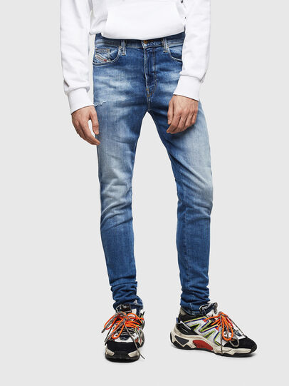 Diesel - D-Istort 009CJ, Medium blue - Jeans - Image 1